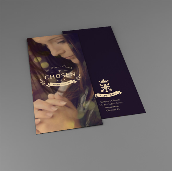 Premium InDesign Church Brochure Template