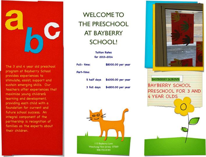 Preschool Brochure Download Free Amp Premium Templates