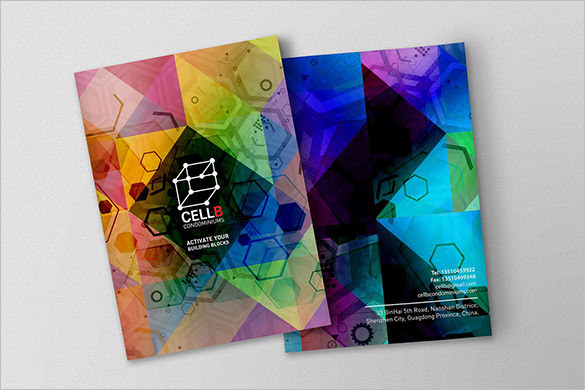 Print Design Condo Modern Brochure Template