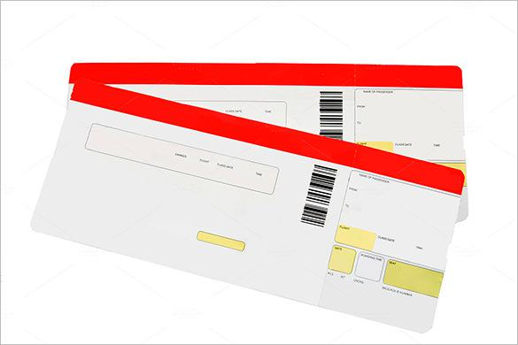 image regarding Print Tickets Free Template called 81+ Ticket Templates Free of charge Down load