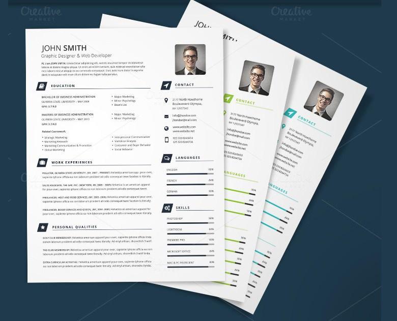 Printable CV Template