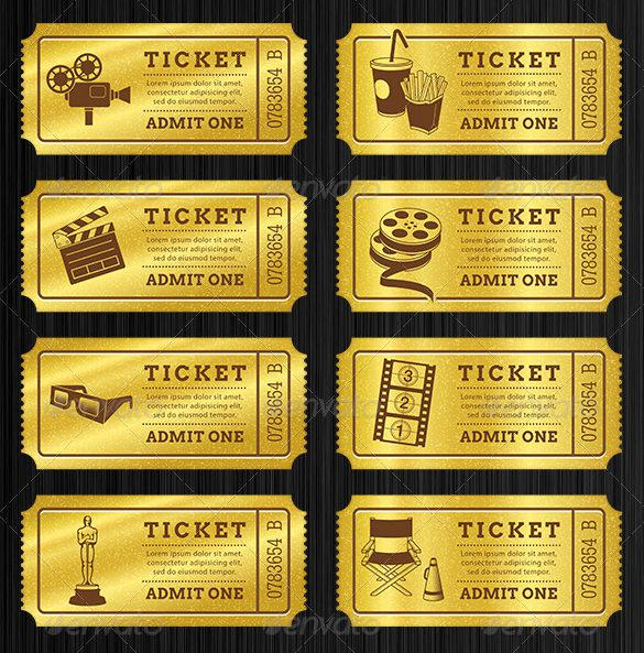 Ticket Templates – Prom Ticket Template