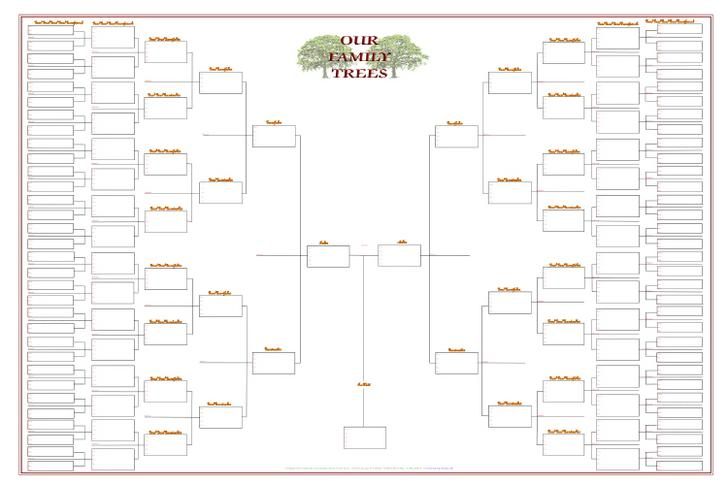 Blank Family Tree Templates – Family Tree Template