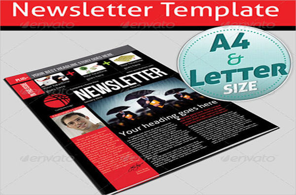 Product Newsletter Template