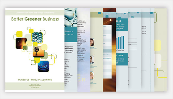 Professional Conference Brochure Brochure