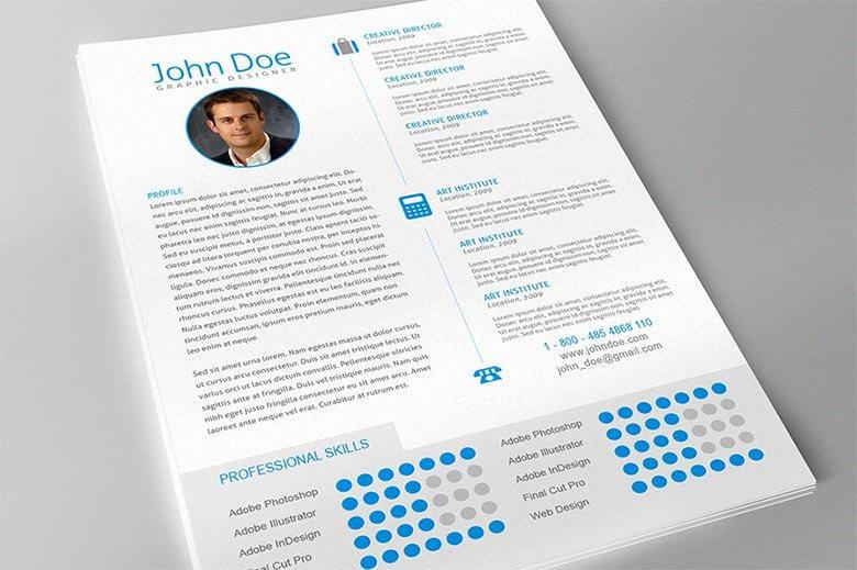 Professional Graphic Designer Resume Format