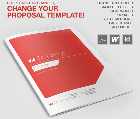 professional proposal template download
