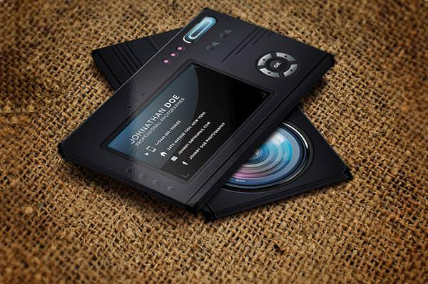 Professional PSD Photographer Business Card