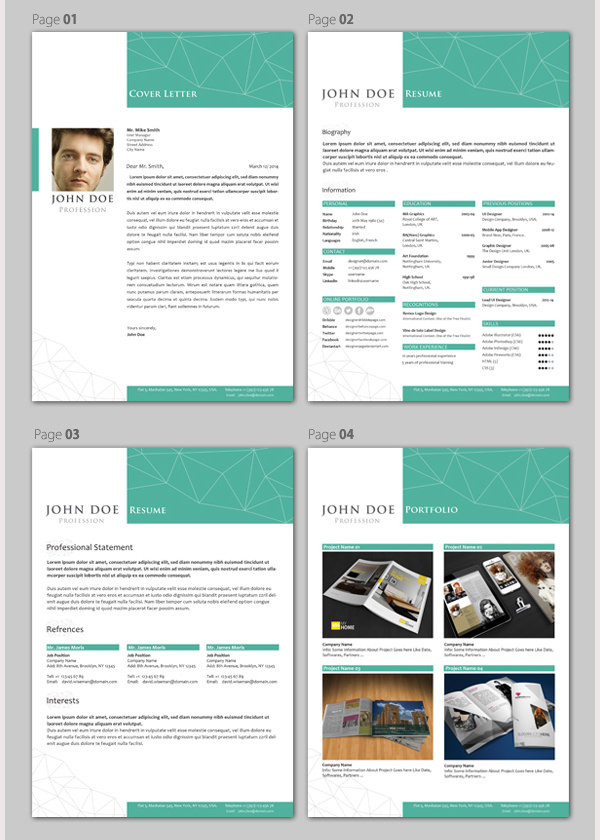 Professional Resume/CV Template