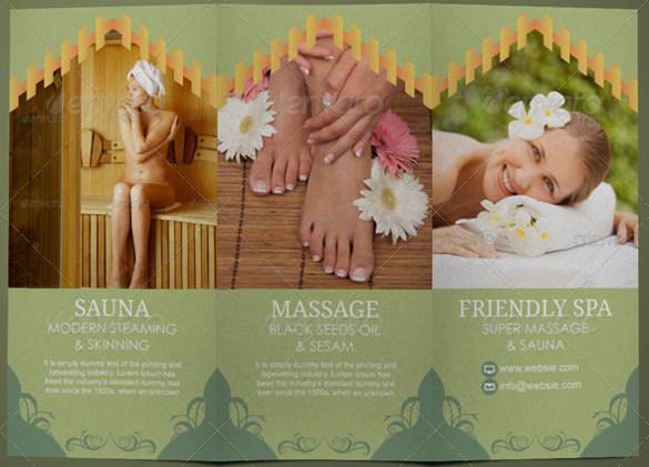 Professional Way Beauty Parlour Brochure Template