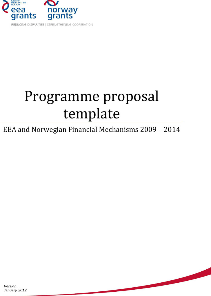 Program Proposal Template  Download Free  Premium Templates