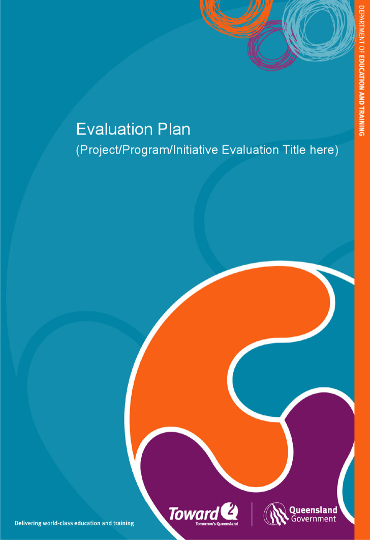 Project Evaluation Plan Template