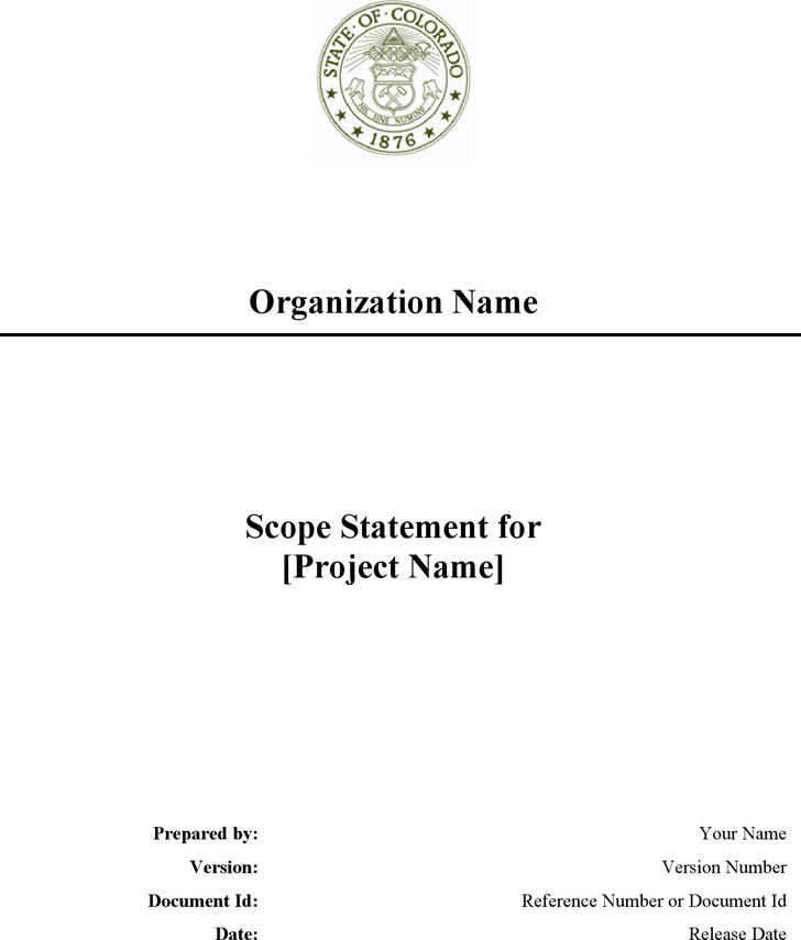 Project Scope Statement