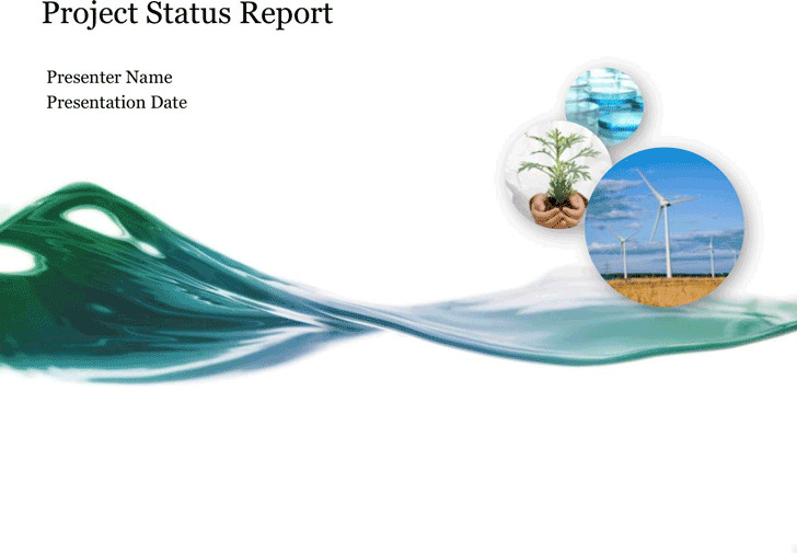 Project Status Report Template 5