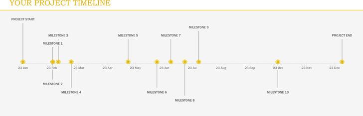 Project Management Timeline Template