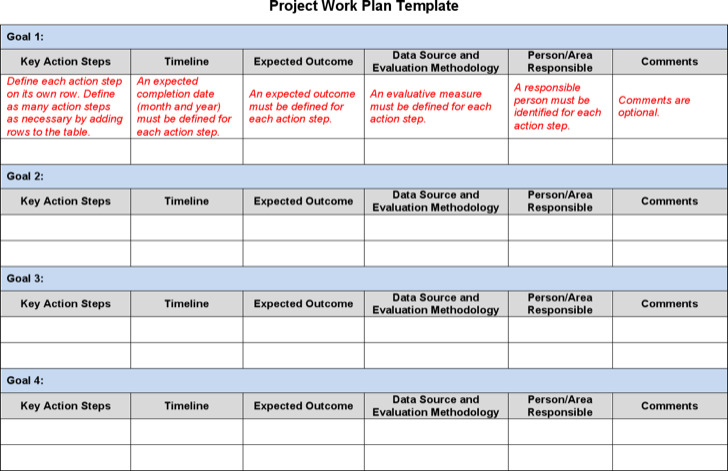Project Plan Templates  Download Free  Premium Templates Forms