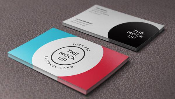 Psd Business Card Mock-Up1