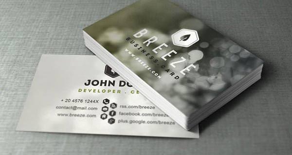 Psd Corporate Business Card Vol 6