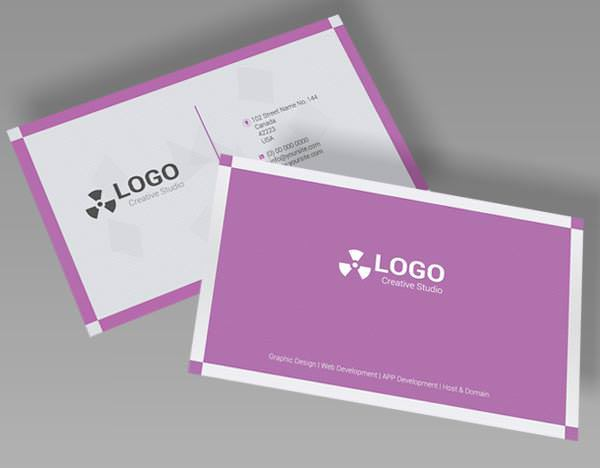 PSD Creative Business Card