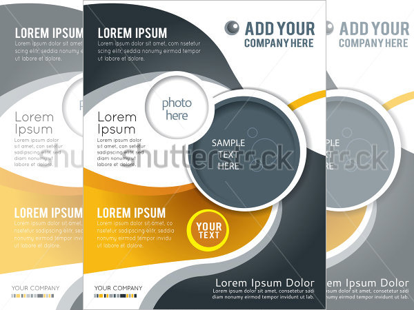 PSD Digital Brochure Template