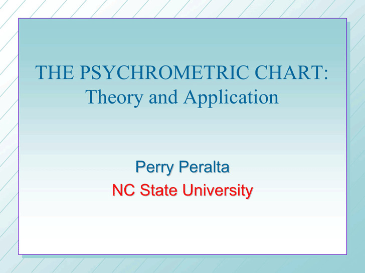 Psychrometric Chart | Download Free & Premium Templates, Forms
