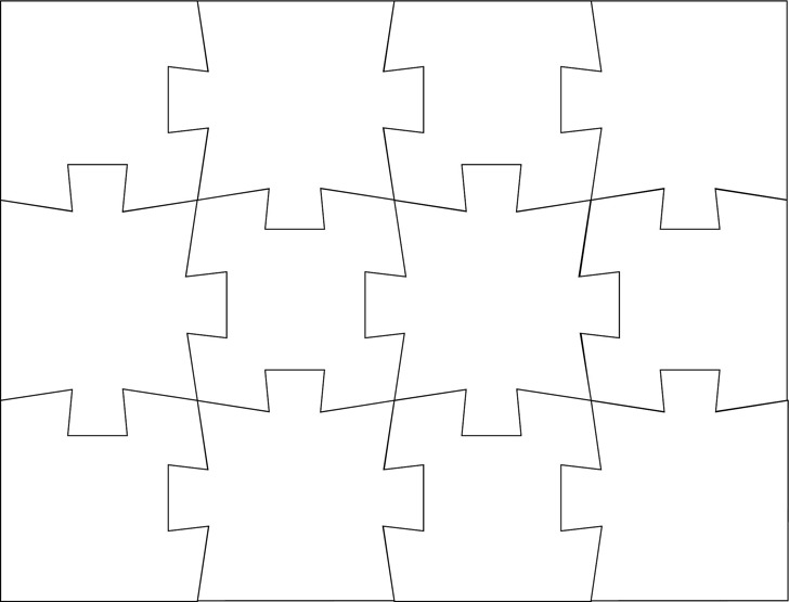 Puzzle Template 2