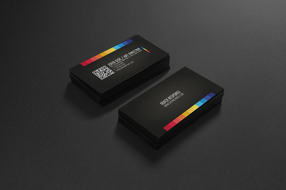 Quick Response Business Card Design