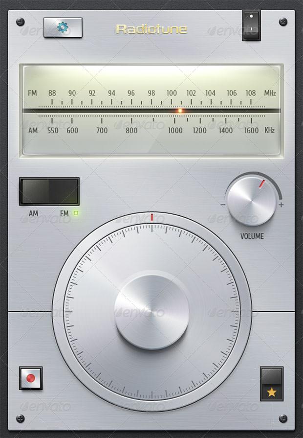 Radio Tuner UI Kit