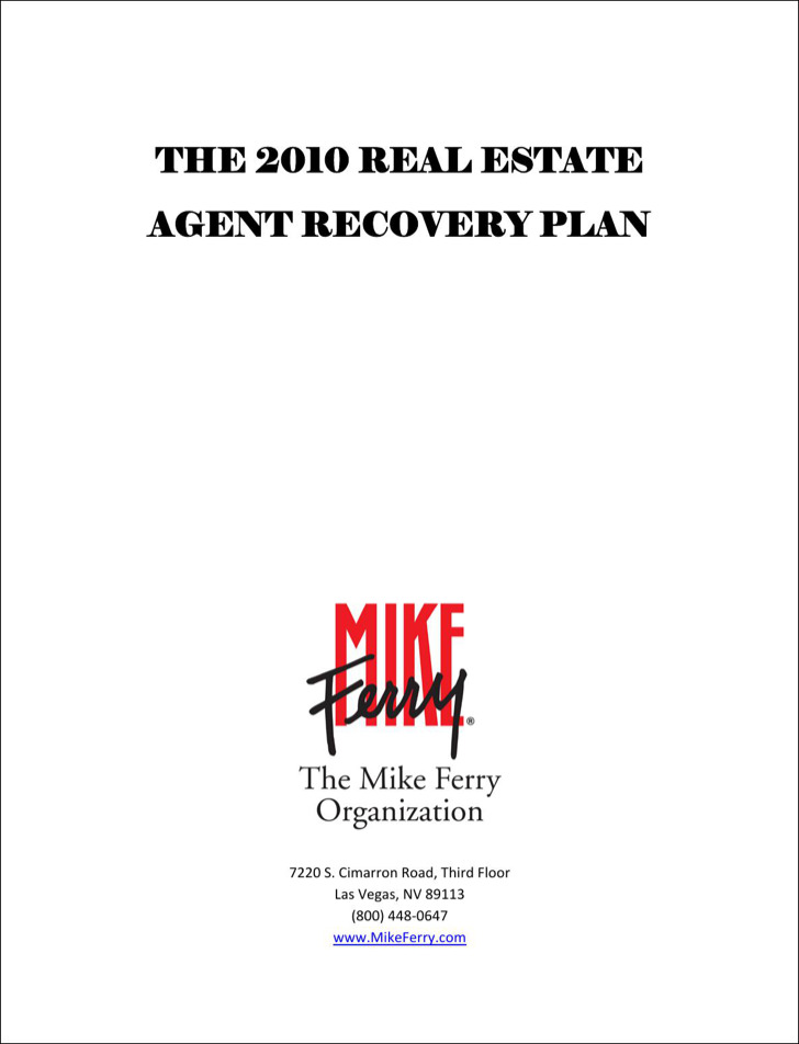 Real Estate Daily Planner Template