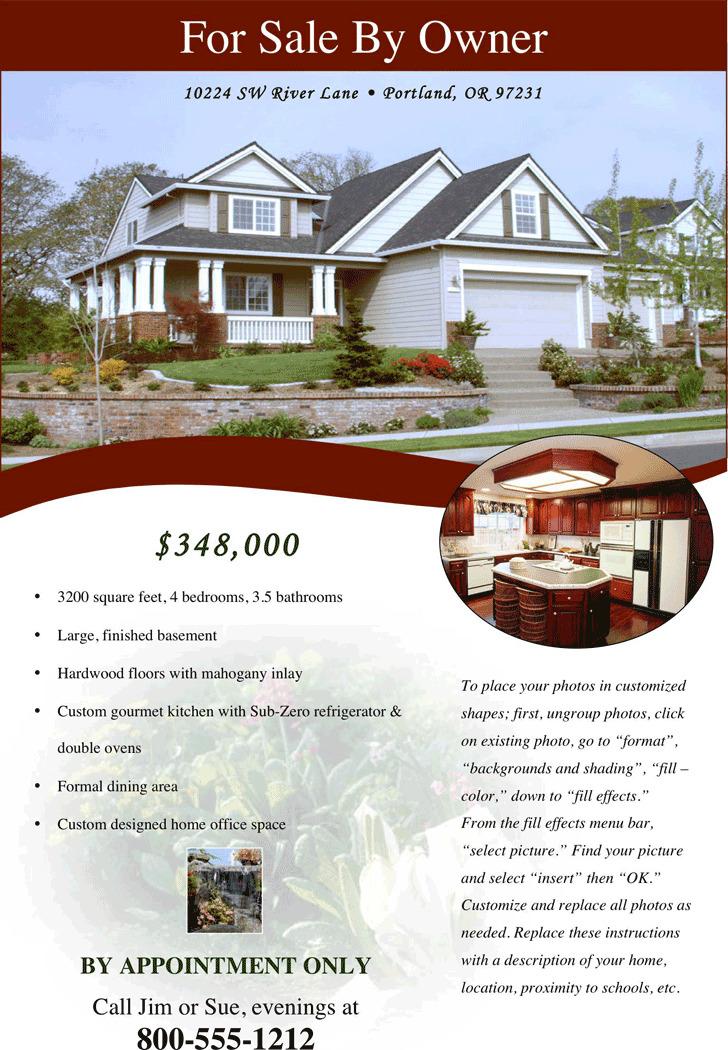 Real Estate Flyer 4
