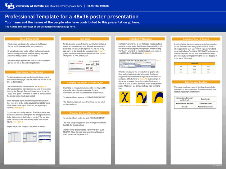 Research Poster Template 1 (48*36)