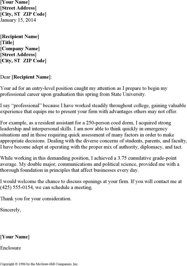 cover letter examples for entry level positions - education cover letter examples download free premium