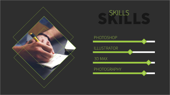 Resume - Creative Powerpoint Template PPTX Format Download