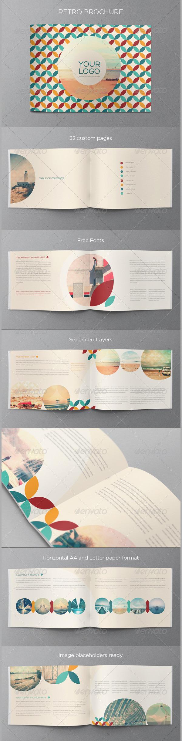 Retro Brochure Sample