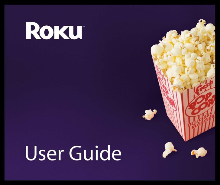 Roku User's Manual Sample