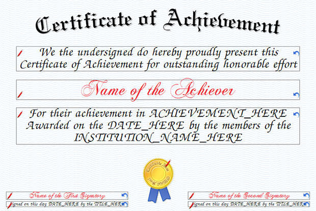 Award Certificate Templates  Download Free  Premium Templates