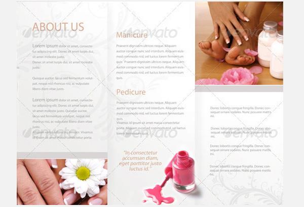 Sample Beauty Saloon Brochure