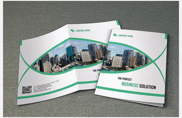 Sample Bi-Fold Brochure for Business