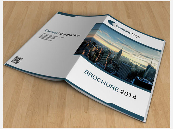 Sample Bi Fold Brochure. Clean Corporate Bi-Fold Brochure 19+ Bi