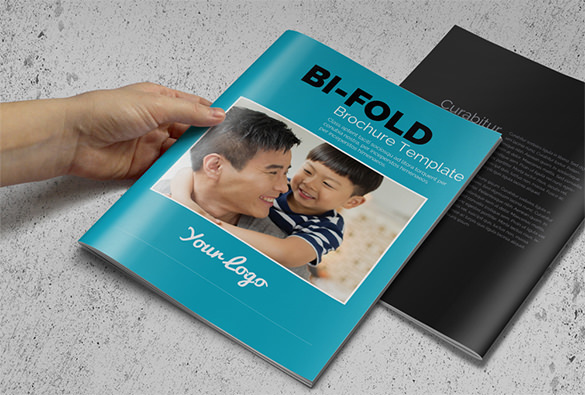 Sample Bi-Fold Business Brochure