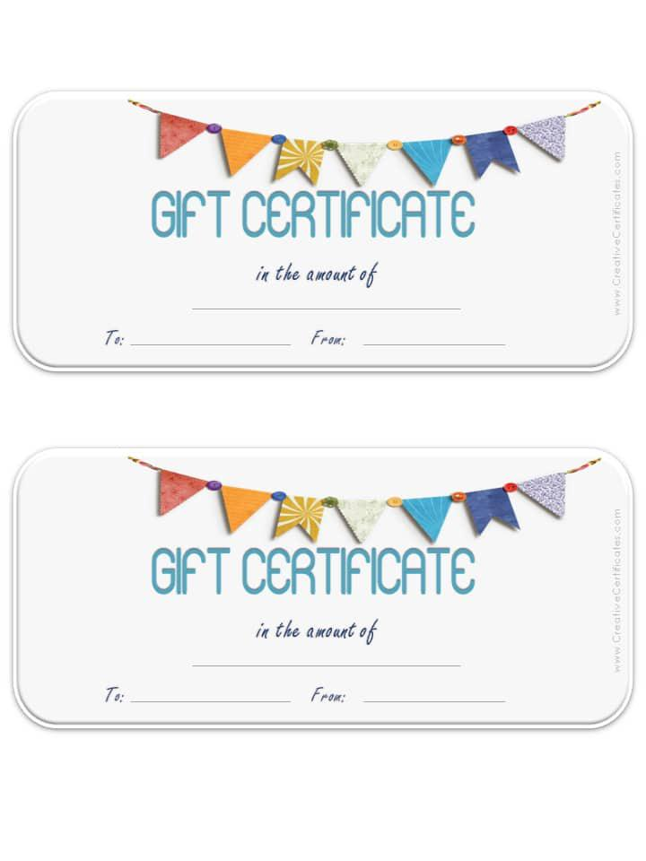 Photography Gift Certificate Template  Download Free  Premium