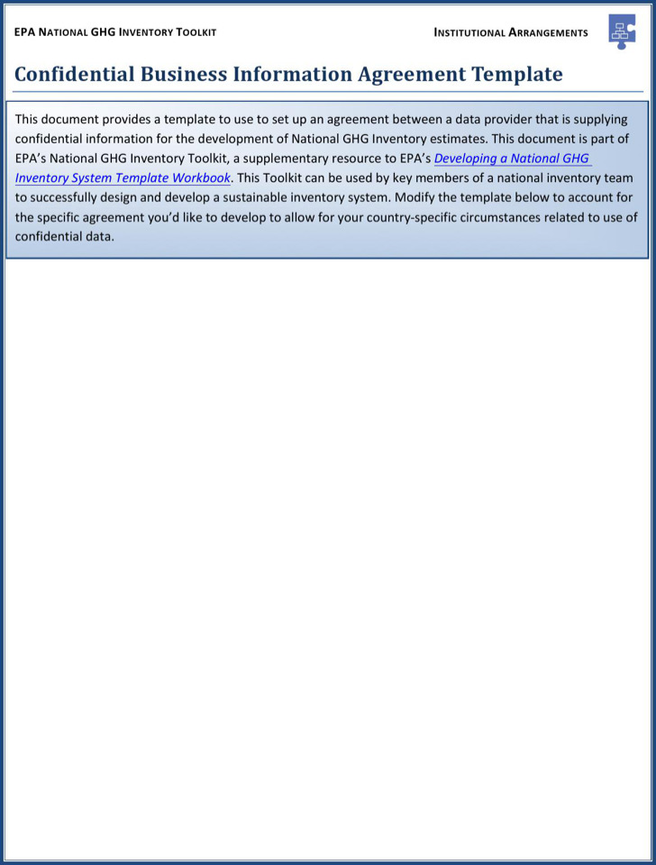 Sample Business Contract Disclosure Agreement