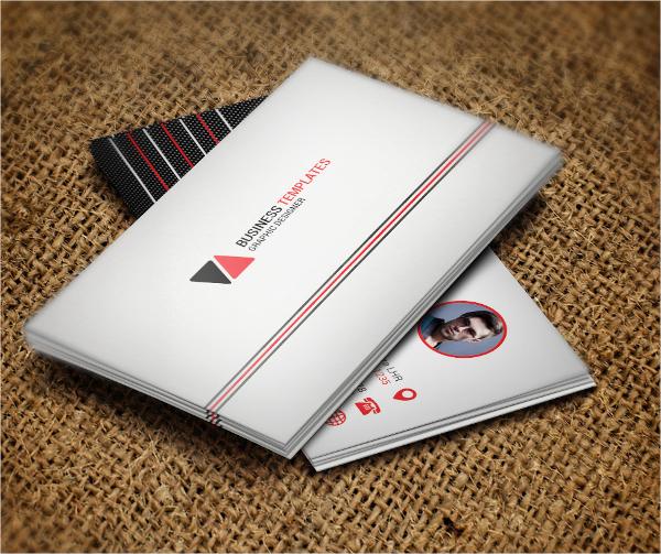 Sample Corporate Business Card Template