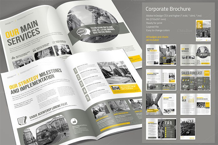 Sample Corporate Business Marketing Template