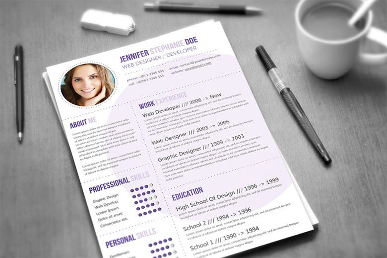 Sample Creative CV Template