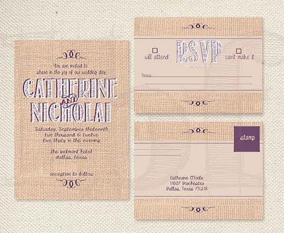 Sample Hobby Lobby Wedding Invitation Template Download