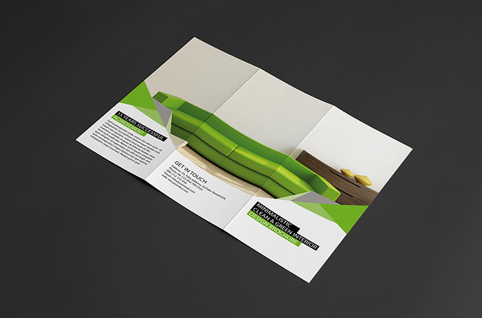 Sample Interior Design Brochure Template