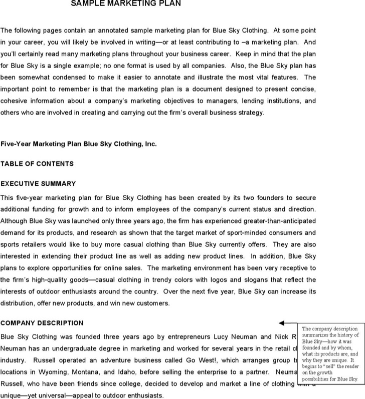 Doc581824 Marketing Proposal Templates Sample Marketing – Company Proposal Format