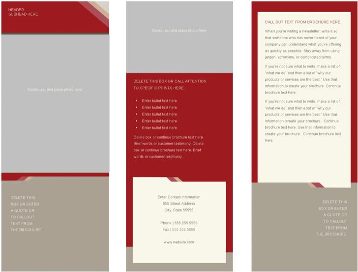 Sample Medical Brochure