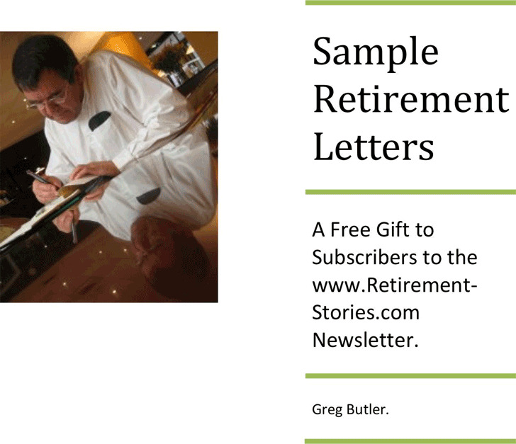 Retirement Letter Samples  Download Free  Premium Templates